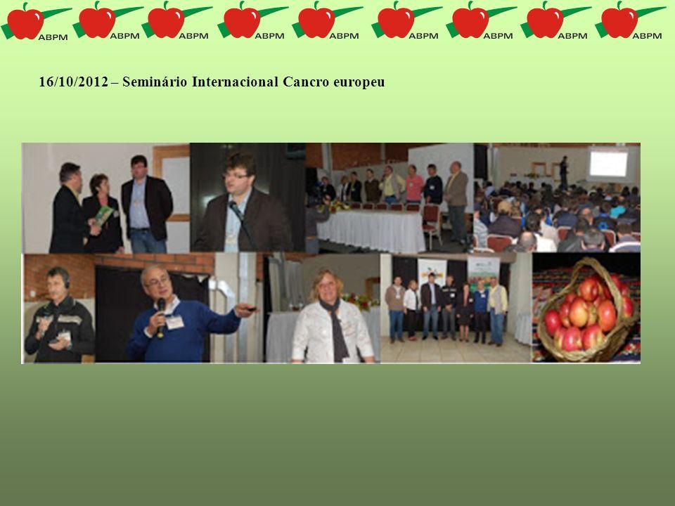 16/10/2012 – Seminário Internacional Cancro europeu