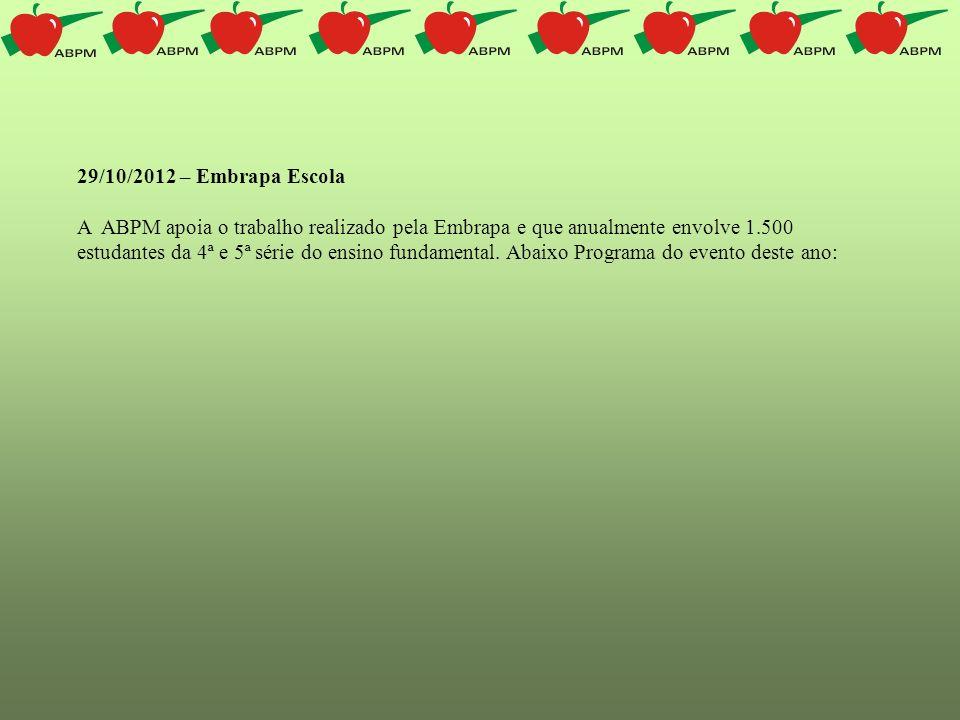 29/10/2012 – Embrapa Escola