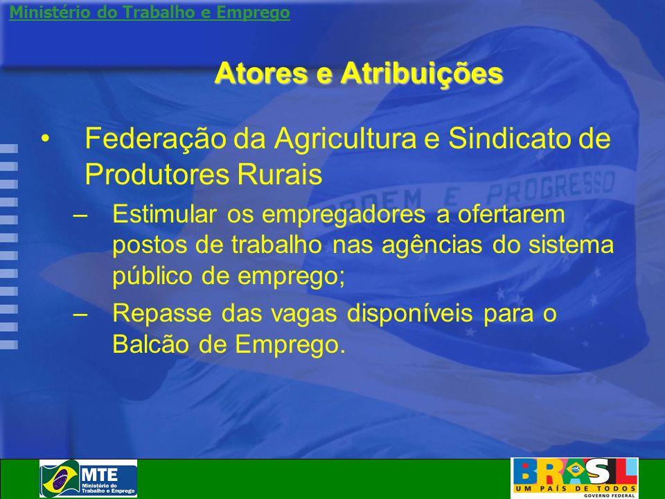 Federação da Agricultura e Sindicato de Produtores Rurais