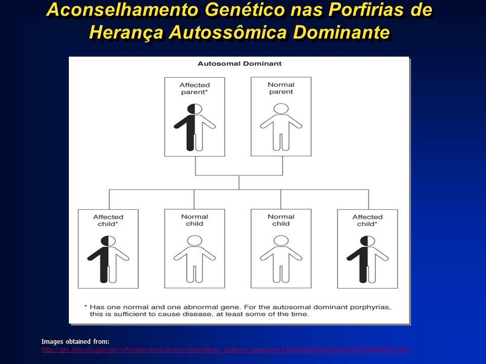 Aconselhamento Genético nas Porfirias de Herança Autossômica Dominante