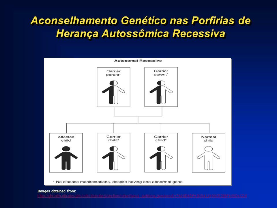 Aconselhamento Genético nas Porfirias de Herança Autossômica Recessiva