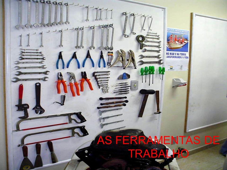 AS FERRAMENTAS DE TRABALHO