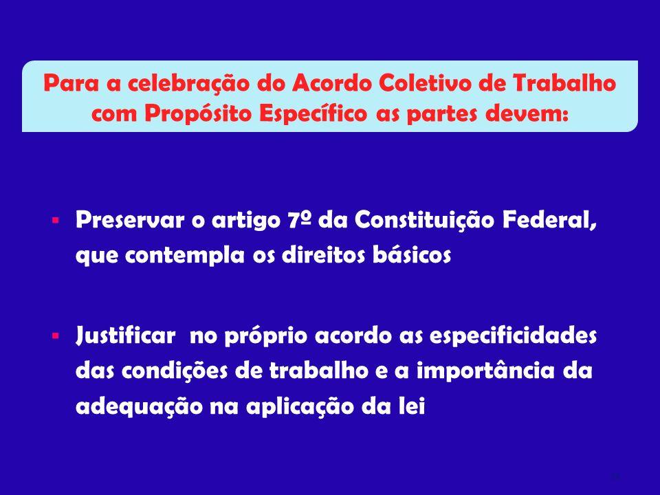 Para a celebração do Acordo Coletivo de Trabalho com Propósito Específico as partes devem: