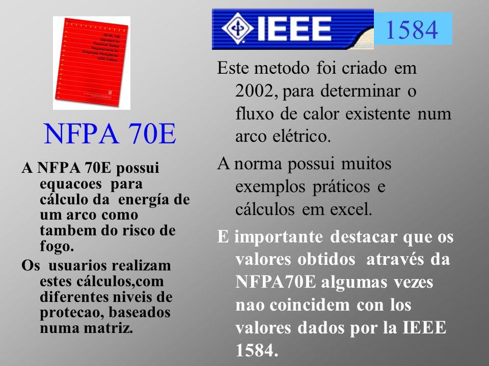 1584 Este metodo foi criado em 2002, para determinar o fluxo de calor existente num arco elétrico.