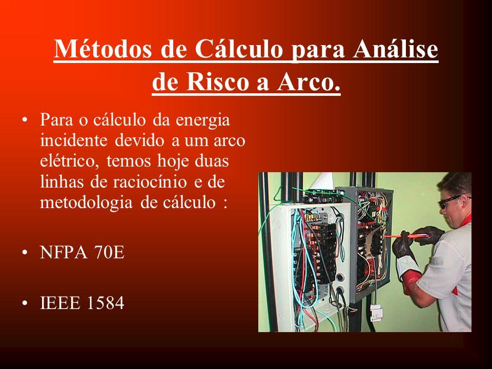 Métodos de Cálculo para Análise de Risco a Arco.