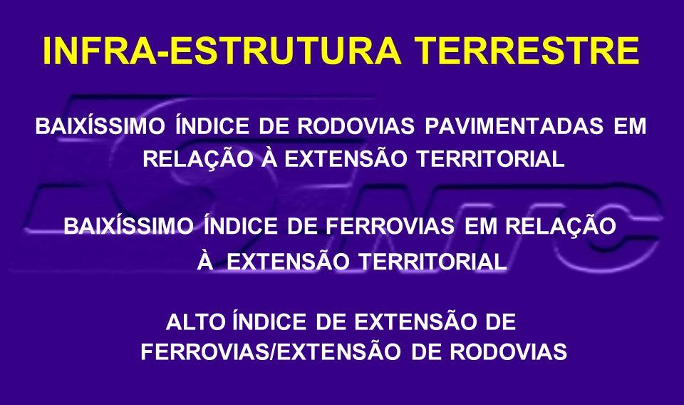 INFRA-ESTRUTURA TERRESTRE