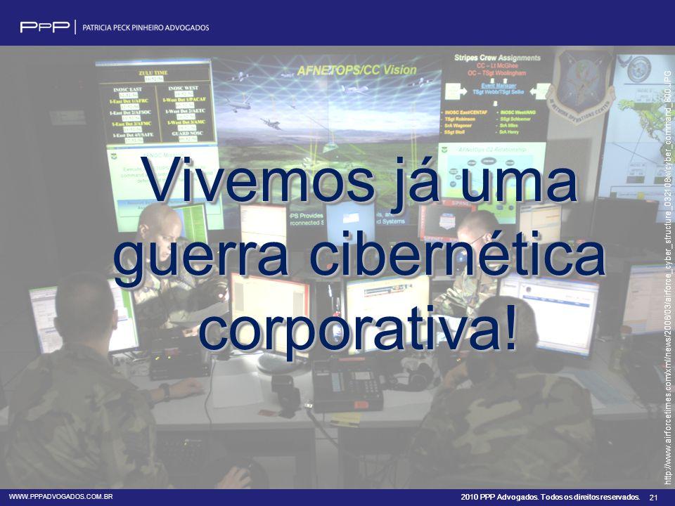 Vivemos já uma guerra cibernética corporativa!
