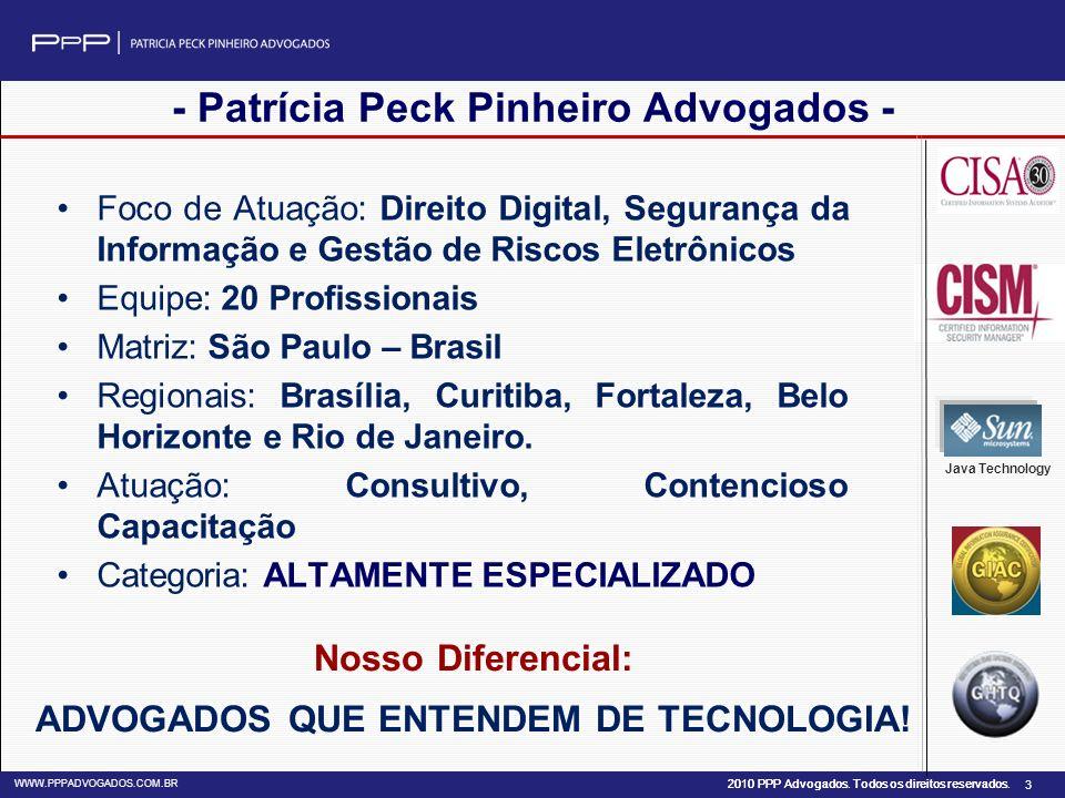 - Patrícia Peck Pinheiro Advogados -
