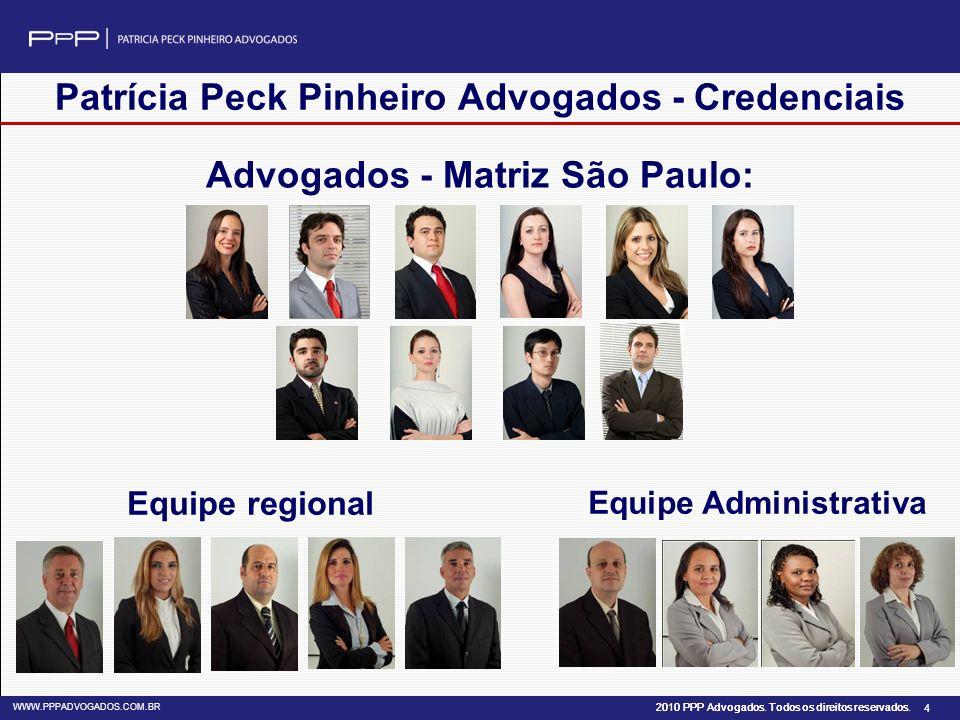 Patrícia Peck Pinheiro Advogados - Credenciais