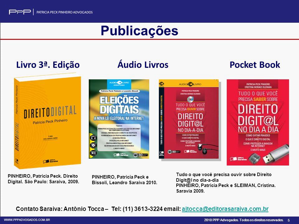 Publicações Livro 3ª. Edição Áudio Livros Pocket Book