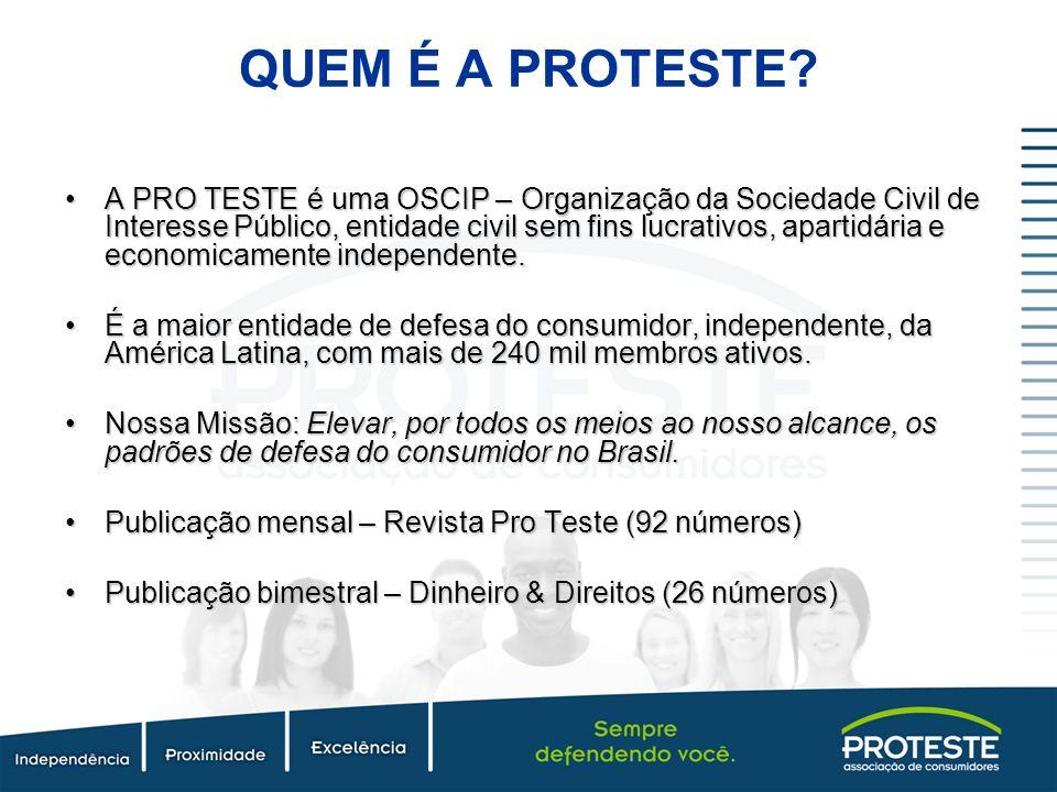 QUEM É A PROTESTE