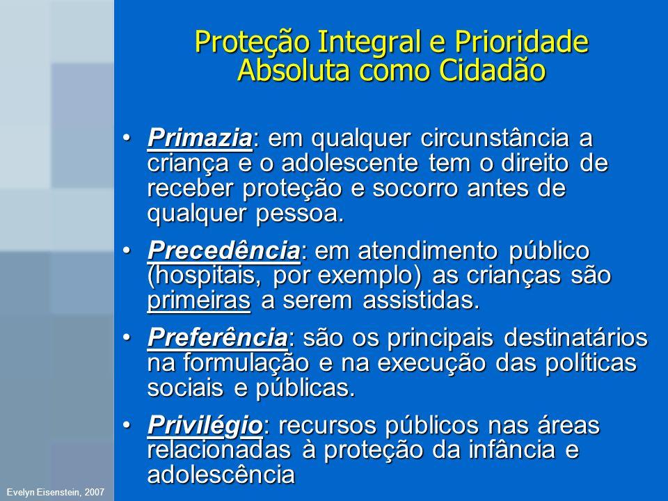 Proteção Integral e Prioridade Absoluta como Cidadão