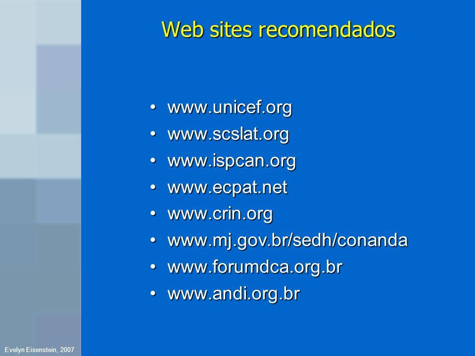 Web sites recomendados