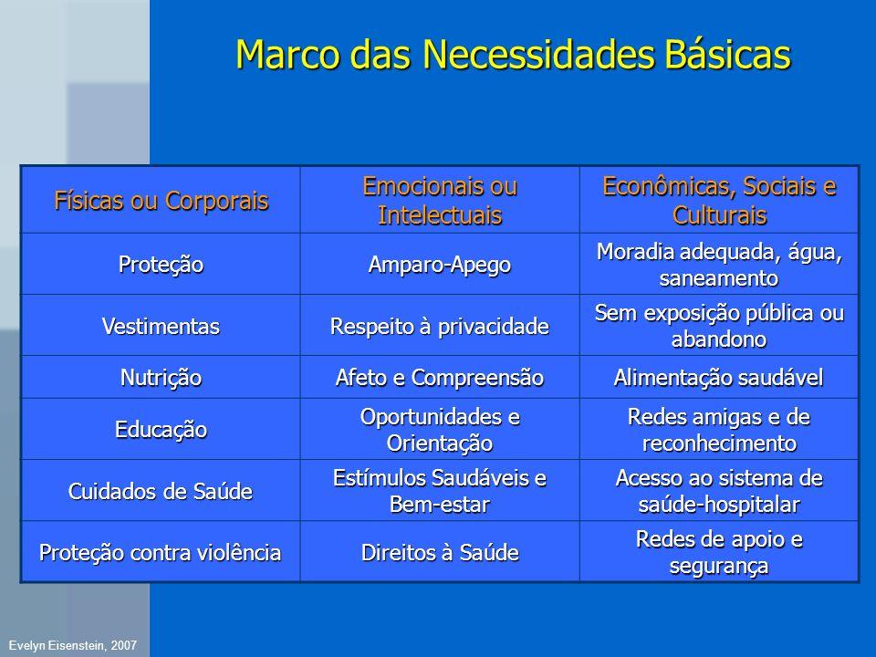 Marco das Necessidades Básicas