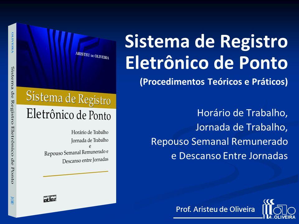 Sistema de Registro Eletrônico de Ponto