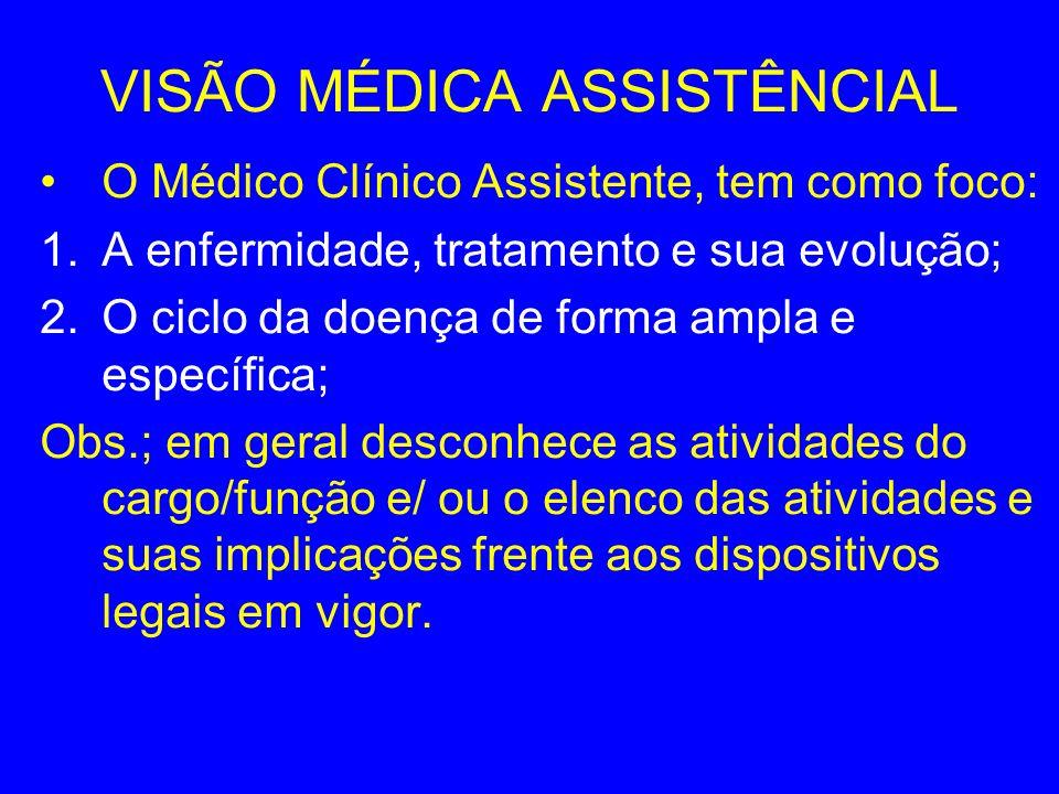 VISÃO MÉDICA ASSISTÊNCIAL