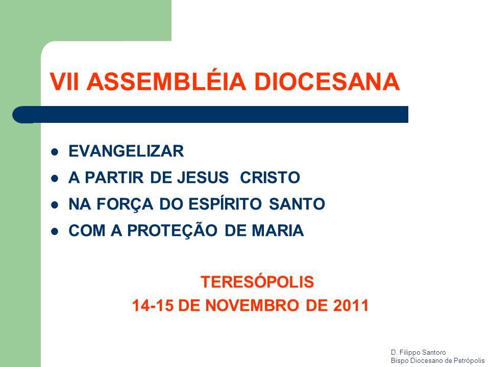 VII ASSEMBLÉIA DIOCESANA