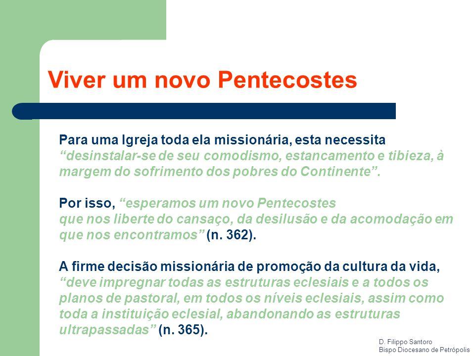 Viver um novo Pentecostes