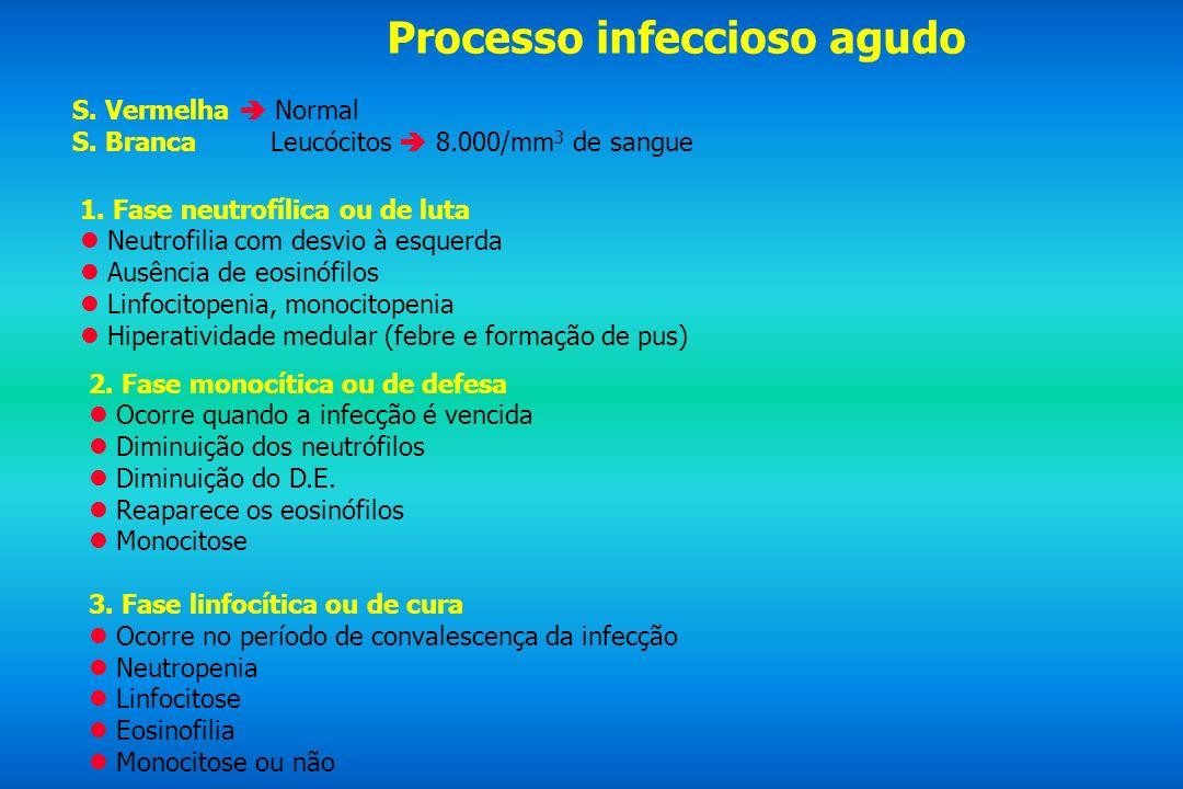 Processo infeccioso agudo