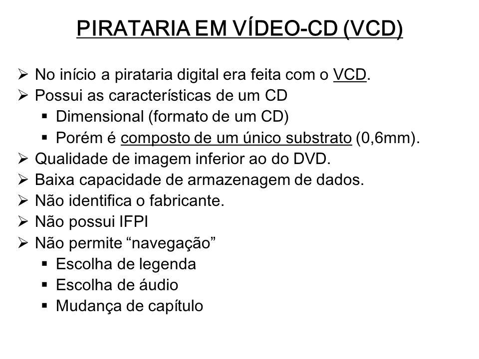 PIRATARIA EM VÍDEO-CD (VCD)