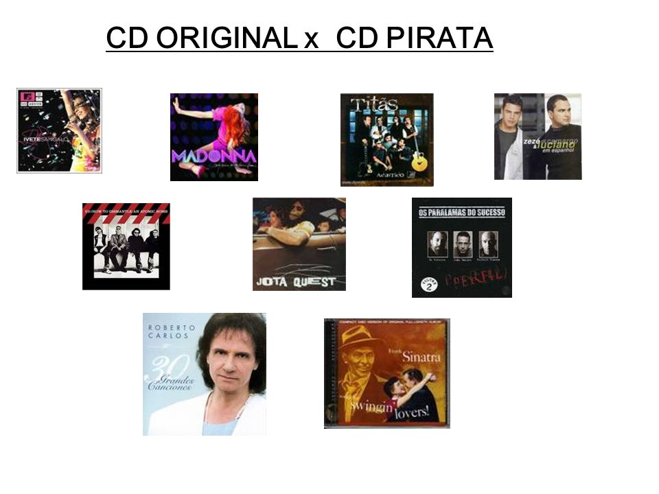 CD ORIGINAL x CD PIRATA