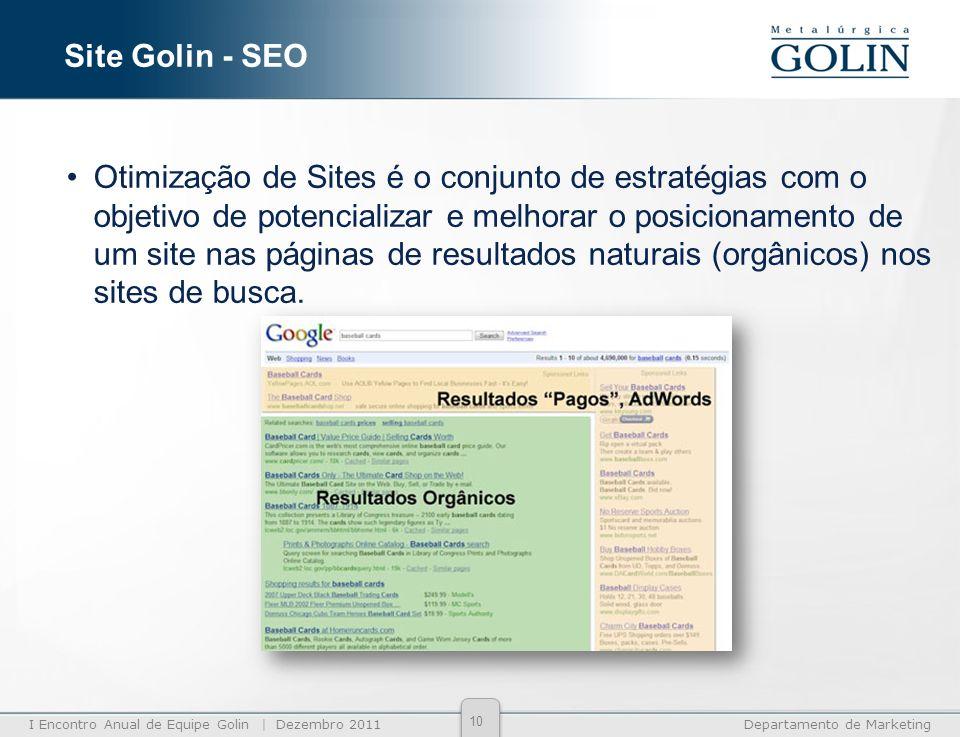 Site Golin - SEO