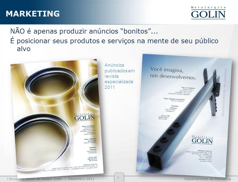 MARKETINGNÃO é apenas produzir anúncios bonitos ... É posicionar seus produtos e serviços na mente de seu público alvo