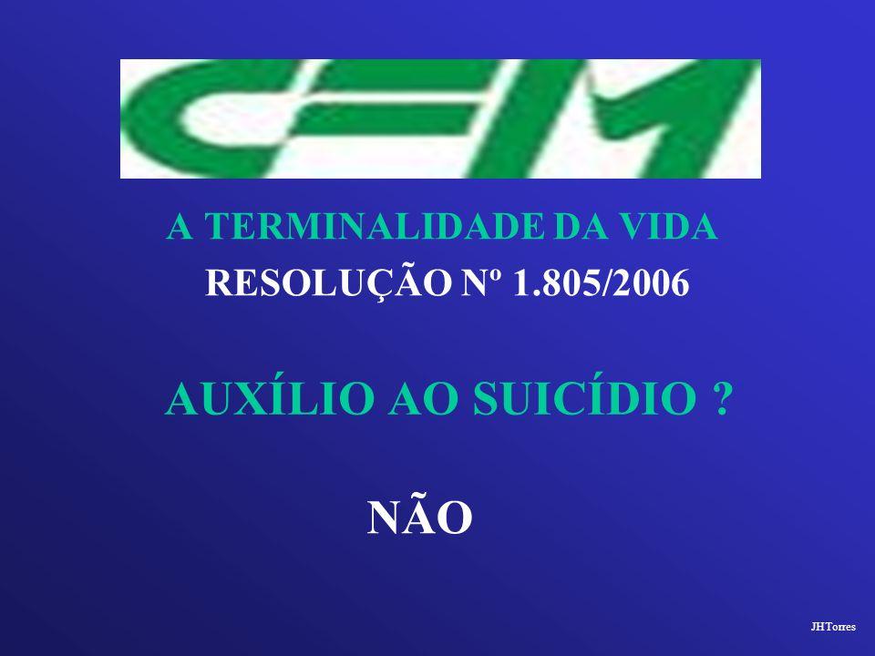 AUXÍLIO AO SUICÍDIO NÃO