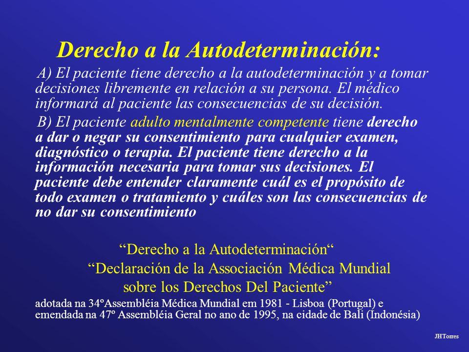 Derecho a la Autodeterminación: