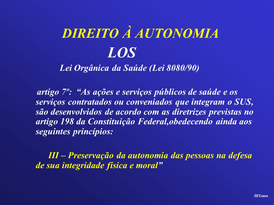 Lei Orgânica da Saúde (Lei 8080/90)