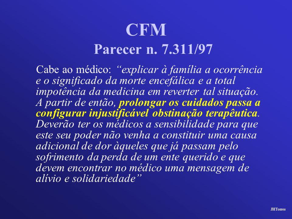 CFM Parecer n. 7.311/97