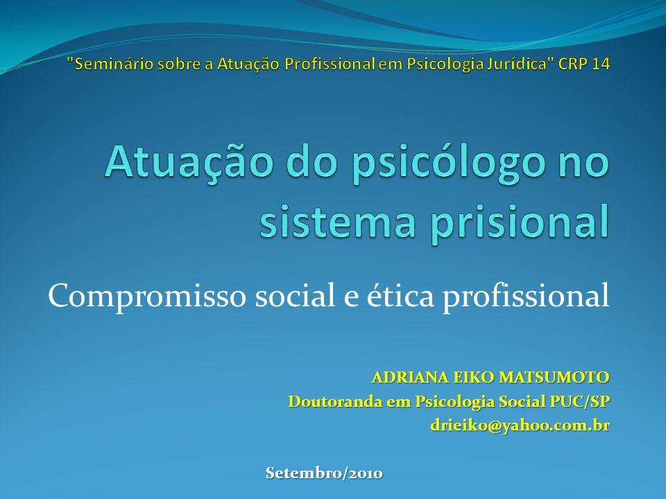 Compromisso social e ética profissional