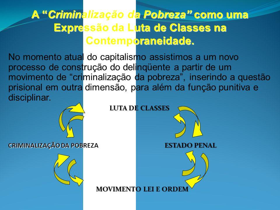 A Criminalização da Pobreza como uma Expressão da Luta de Classes na Contemporaneidade.