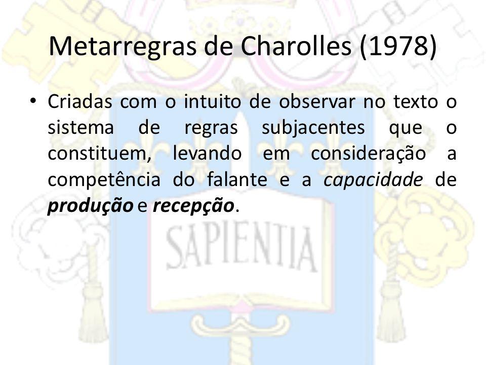 Metarregras de Charolles (1978)