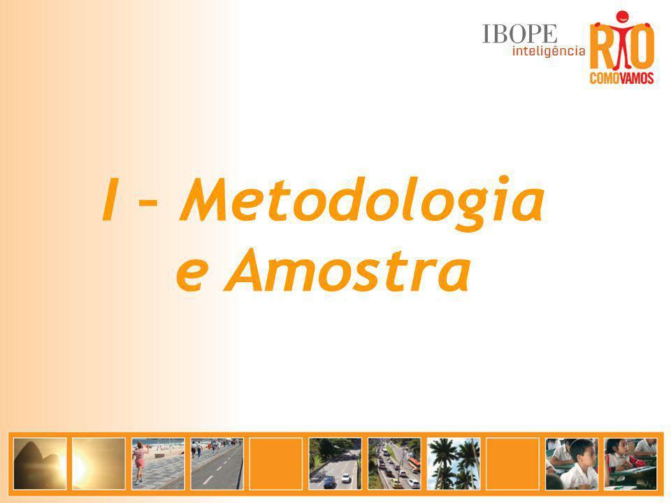 I – Metodologia e Amostra