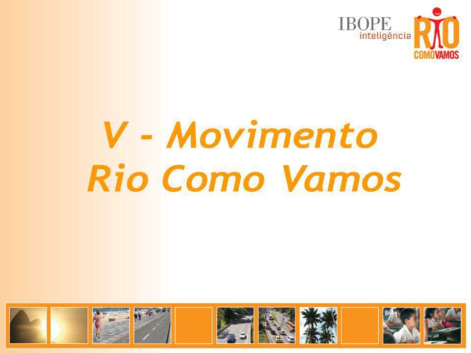 V - Movimento Rio Como Vamos