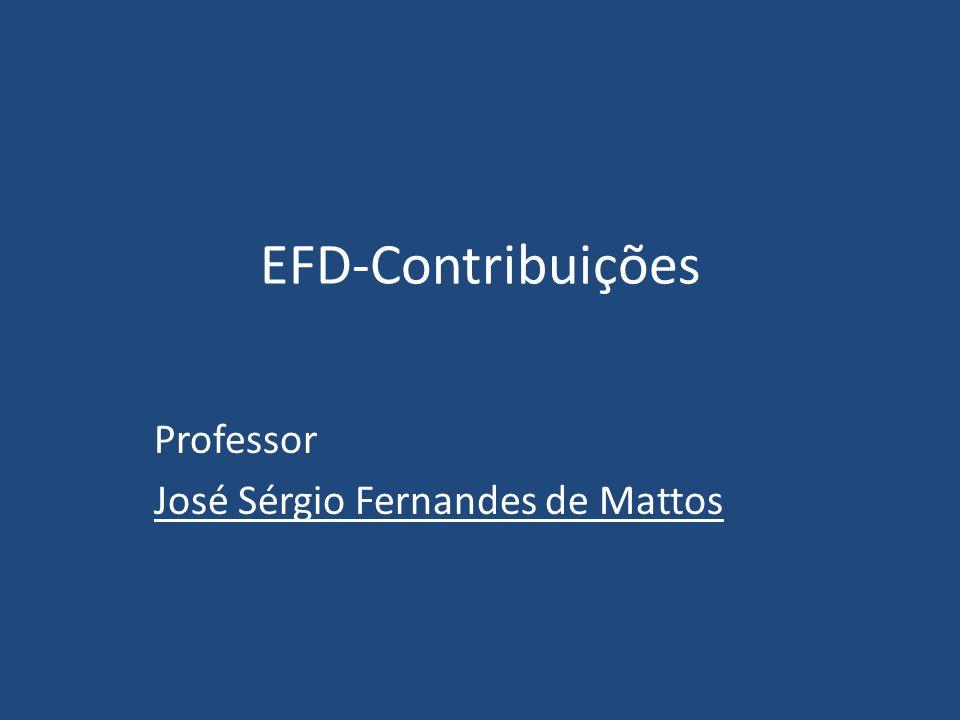 Professor José Sérgio Fernandes de Mattos