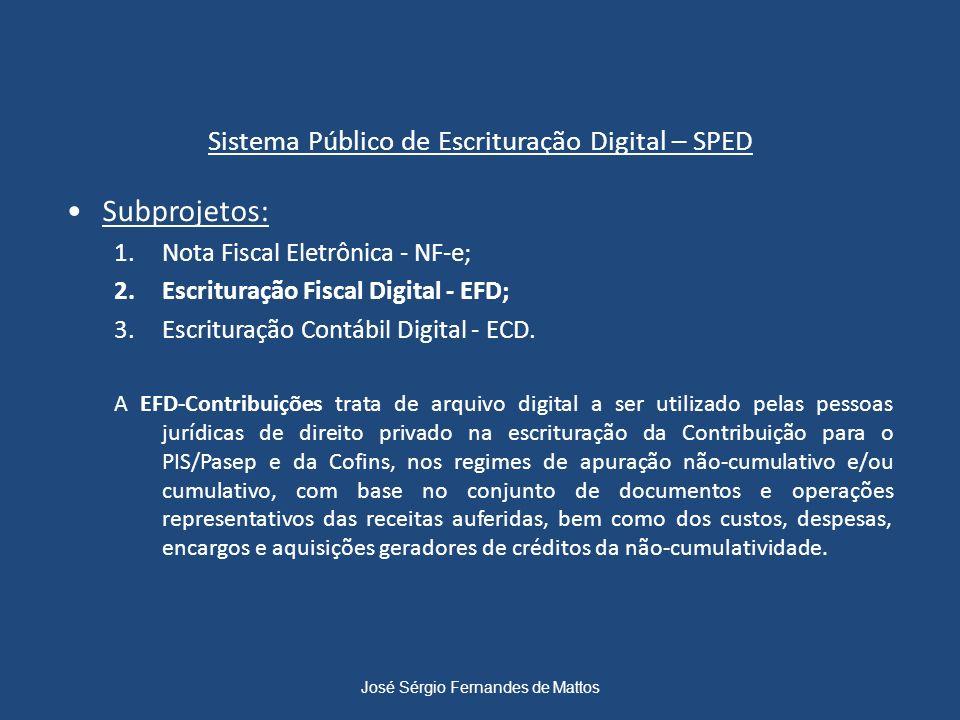 Sistema Público de Escrituração Digital – SPED