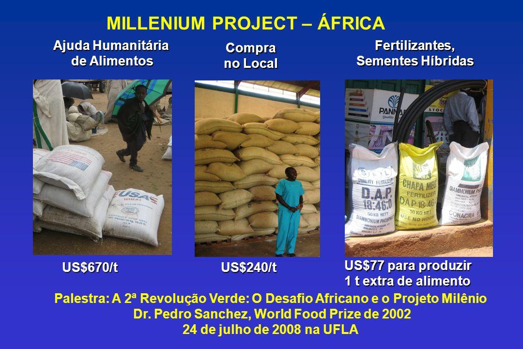 MILLENIUM PROJECT – ÁFRICA