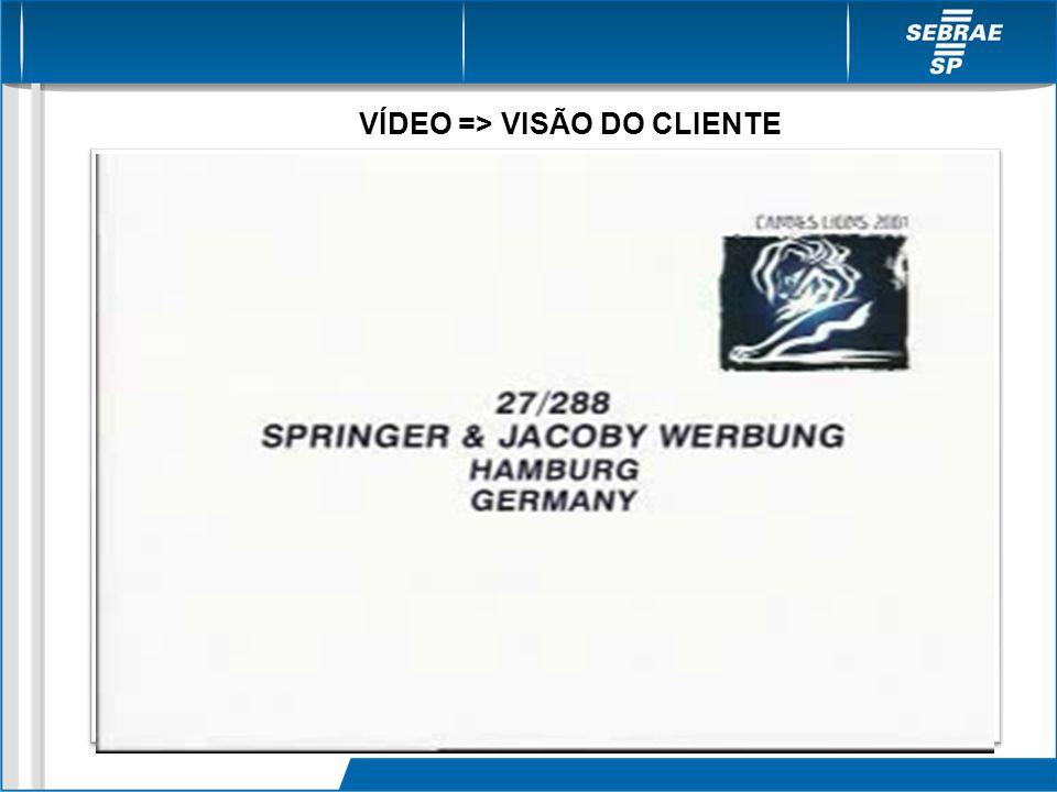 VÍDEO => VISÃO DO CLIENTE