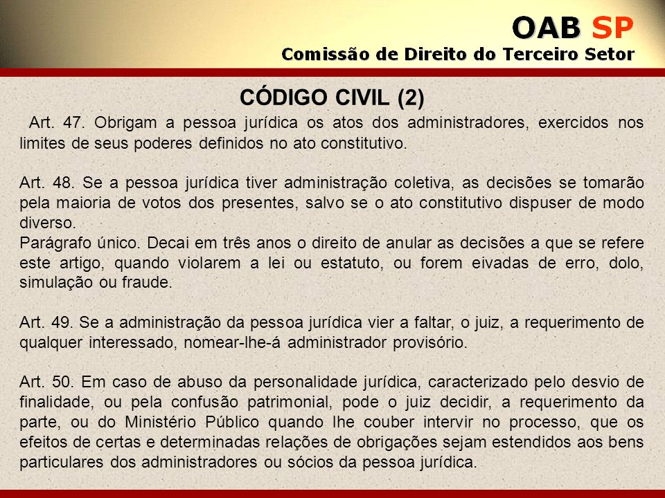 CÓDIGO CIVIL (2)