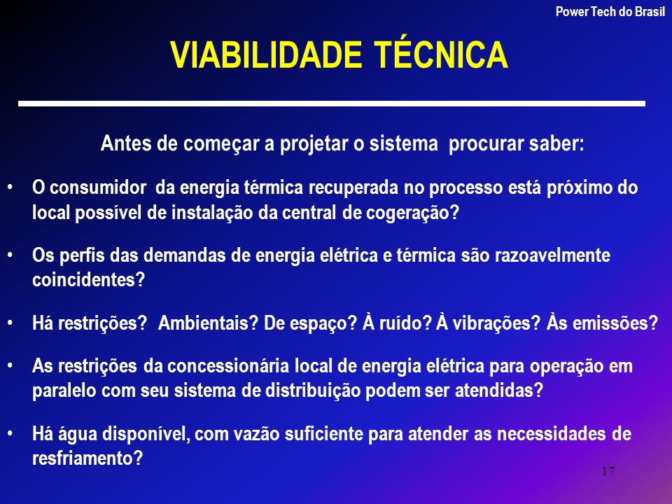 Power Tech do Brasil Energia & Sistemas Ltda
