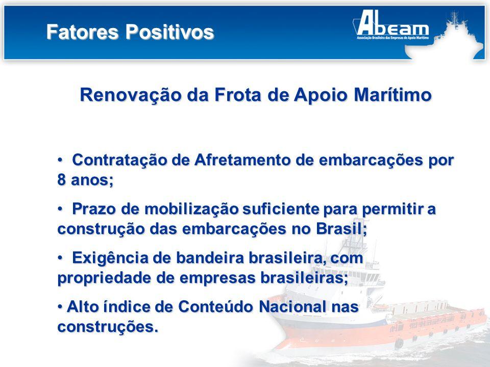 Renovação da Frota de Apoio Marítimo