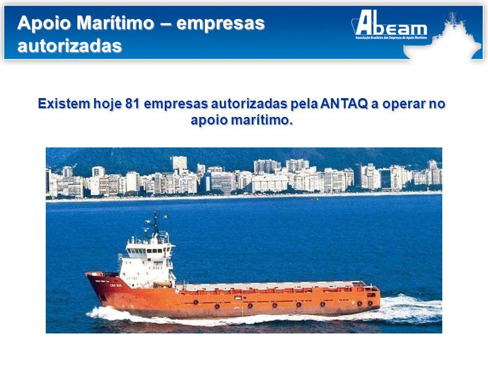 Apoio Marítimo – empresas autorizadas