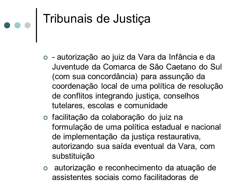 Tribunais de Justiça