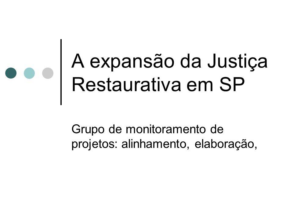 A expansão da Justiça Restaurativa em SP