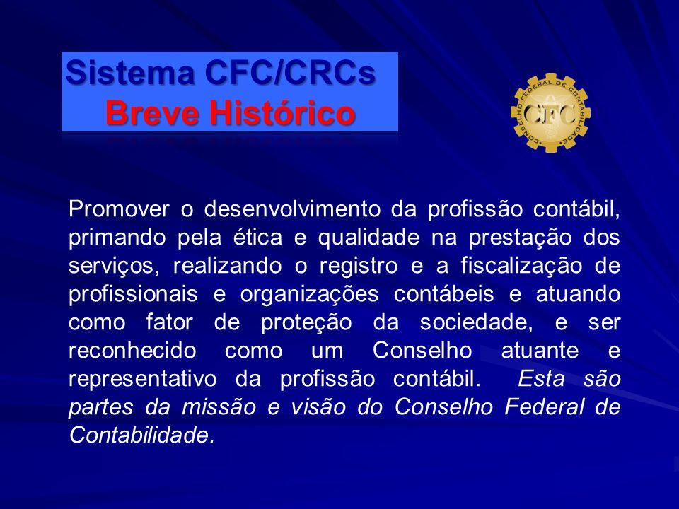 Sistema CFC/CRCs Breve Histórico