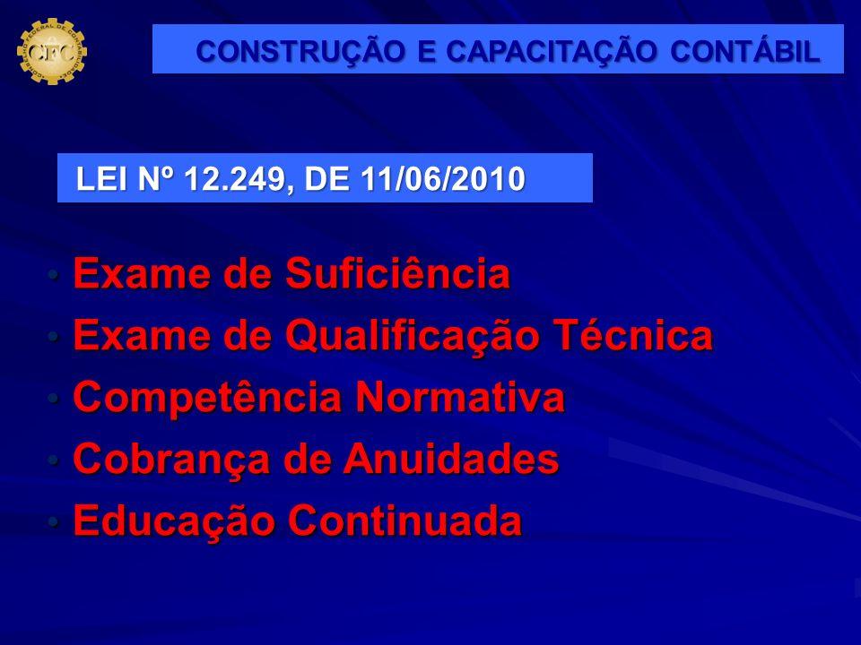 CONSTRUÇÃO E CAPACITAÇÃO CONTÁBIL