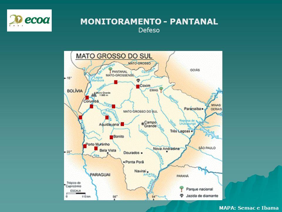 MONITORAMENTO - PANTANAL Defeso
