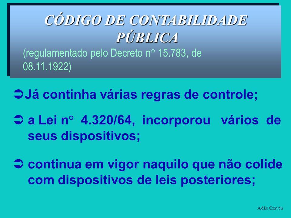 CÓDIGO DE CONTABILIDADE PÚBLICA
